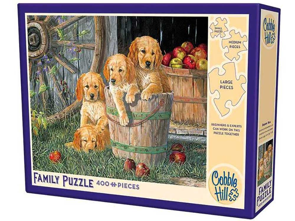 PUPPY PAIL 400pc *Family*