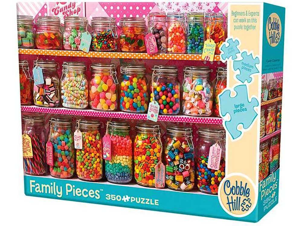 CANDY COUNTER 350pcs *Family*
