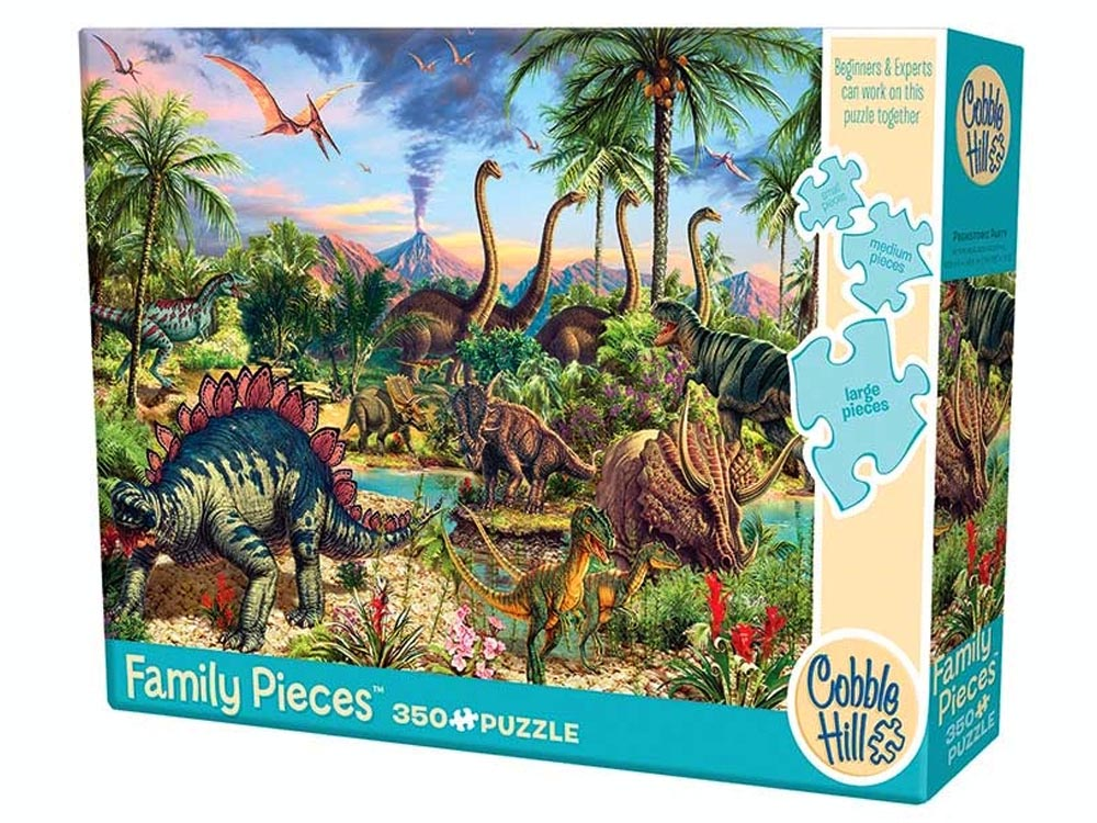 PREHISTORIC PARTY350pc*Family*