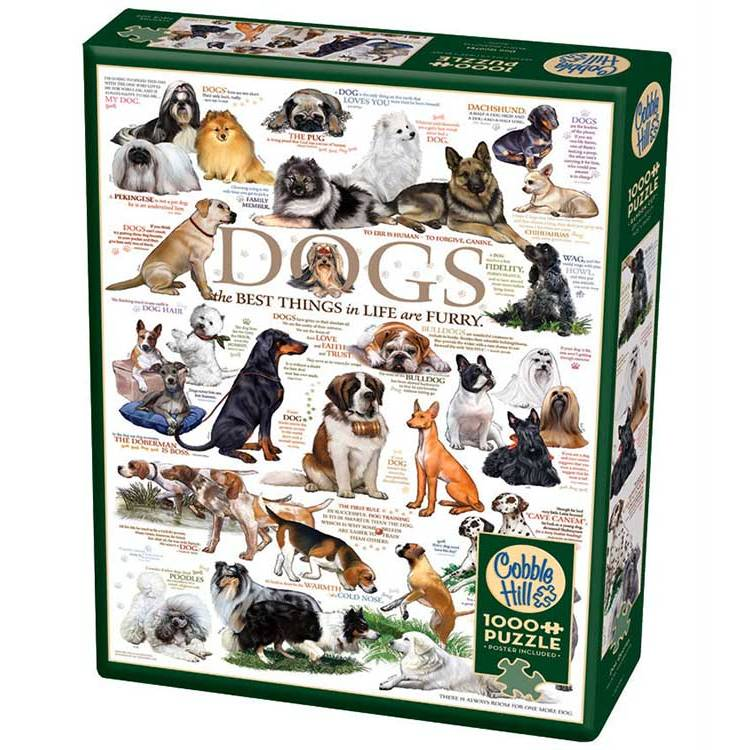 DOG QUOTES 1000pc