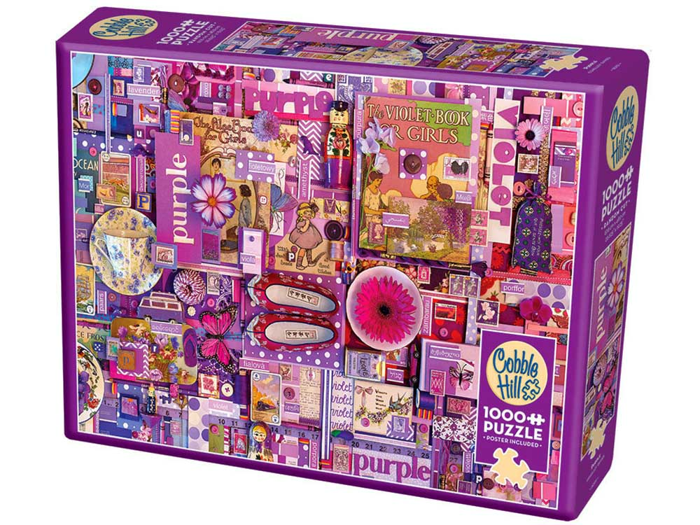 RAINBOW PROJECT 1000pc PURPLE