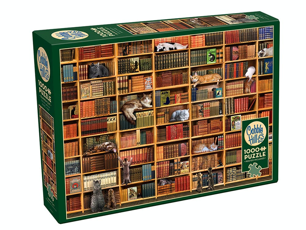 THE CAT LIBRARY 1000pc