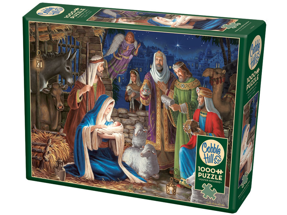 MIRACLE IN BETHLEHEM 1000pc