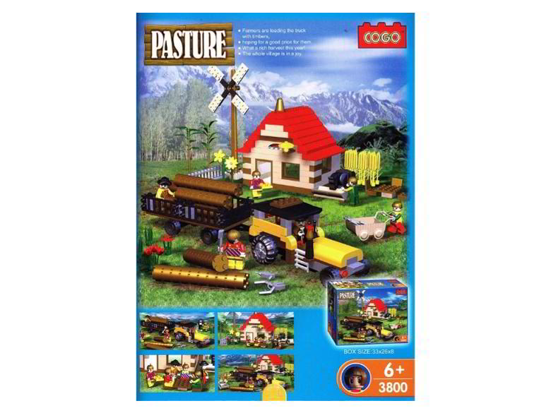 PASTURE, LOGGING SET 500pc