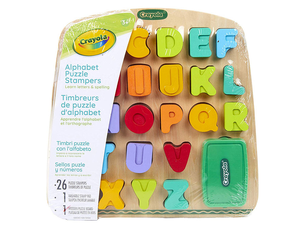 ALPHABET PUZZLE STAMPERS