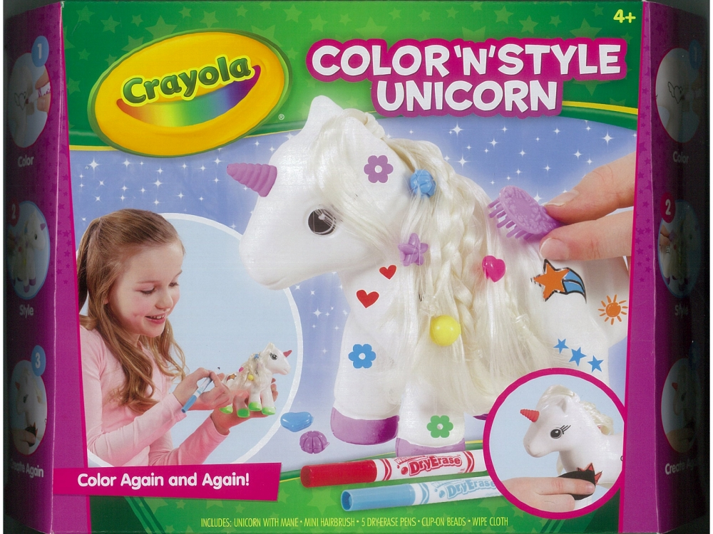 COLOR 'N' STYLE UNICORN