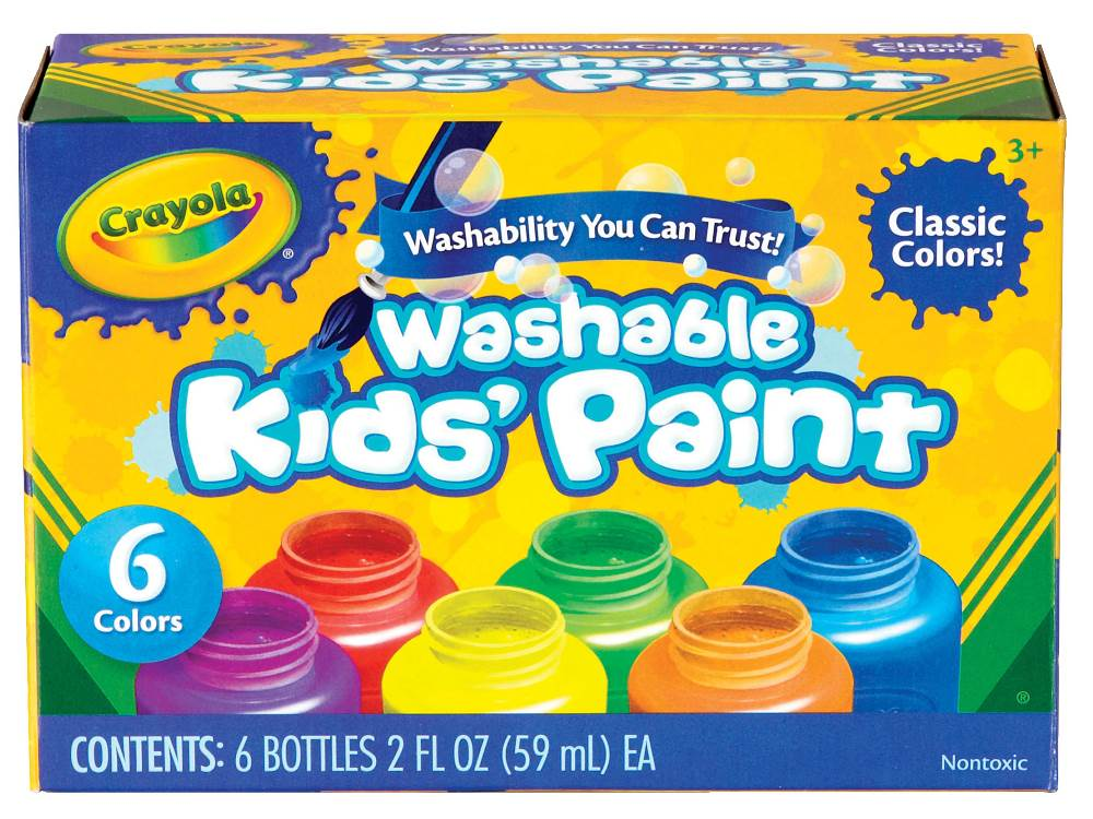 WASHABLE KIDS' PAINT
