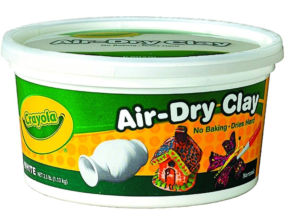 AIR DRY CLAY WHITE 1.13kg