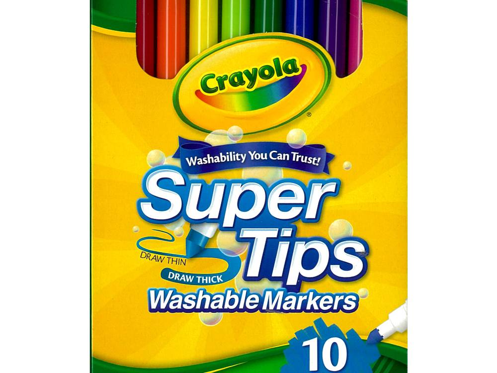 SUPER TIP MARKERS (10) in box