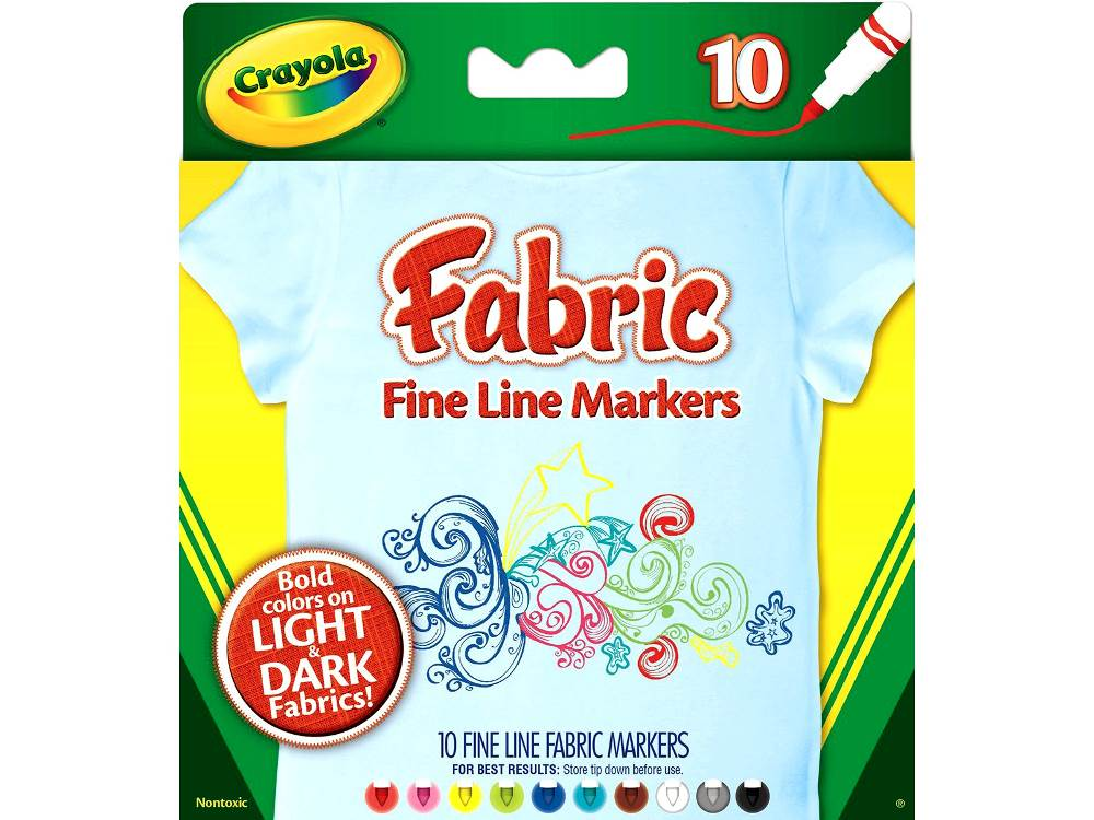 FABRIC FINE LINE MARKERS (10)
