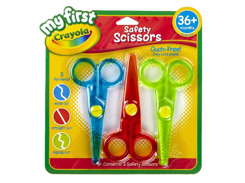3Y FIRST SAFETY SCISSORS
