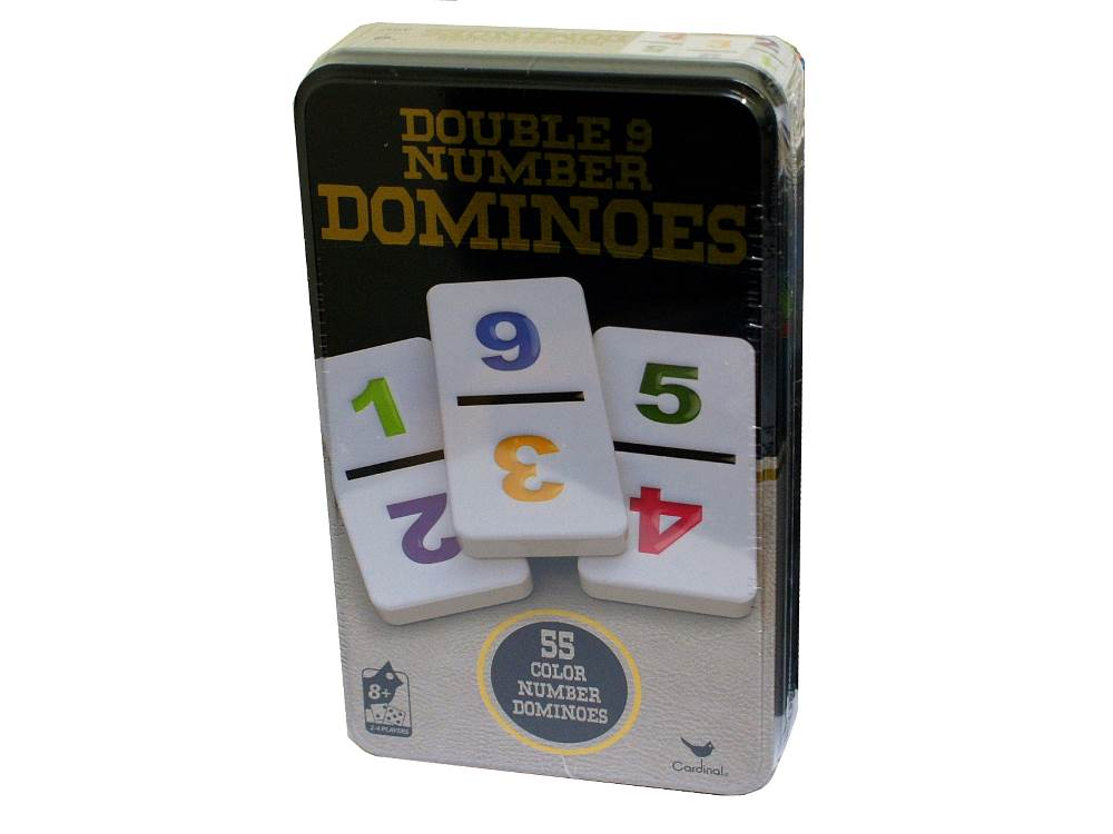 DOMINOES D9 NUMBERS (CARDINAL)