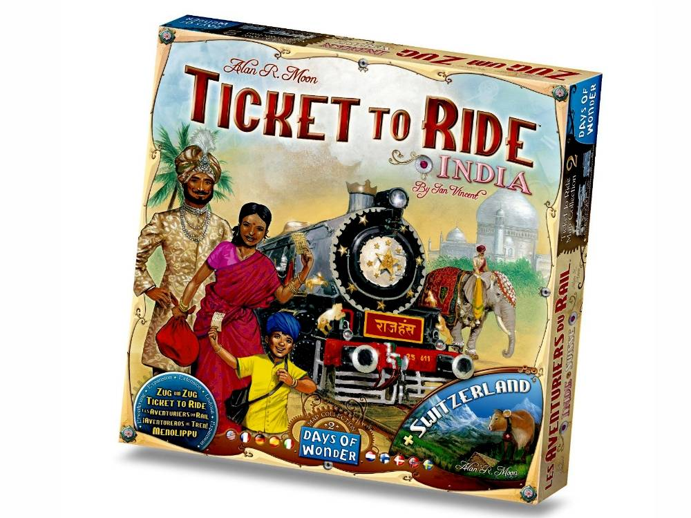 TICKET TO RIDE INDIA