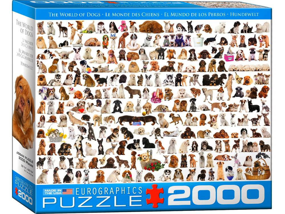 THE WORLD OF DOGS 2000pc