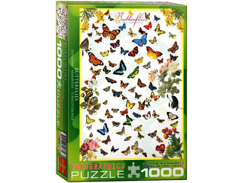 BUTTERFLIES 1000pc
