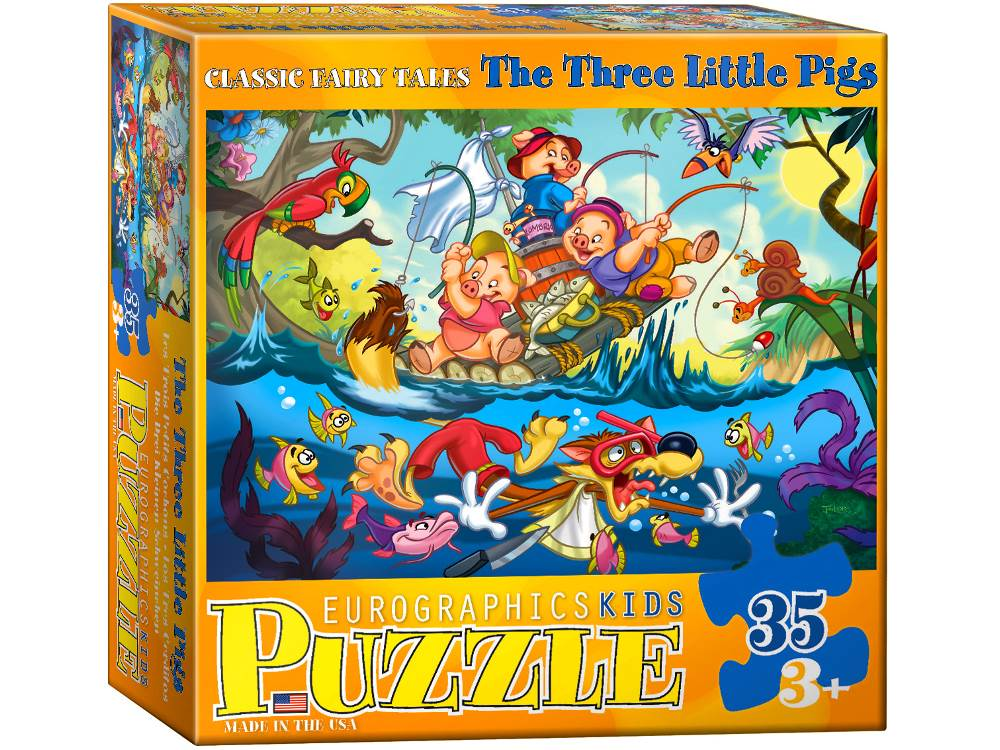 3 LITTLE PIGS 35pc