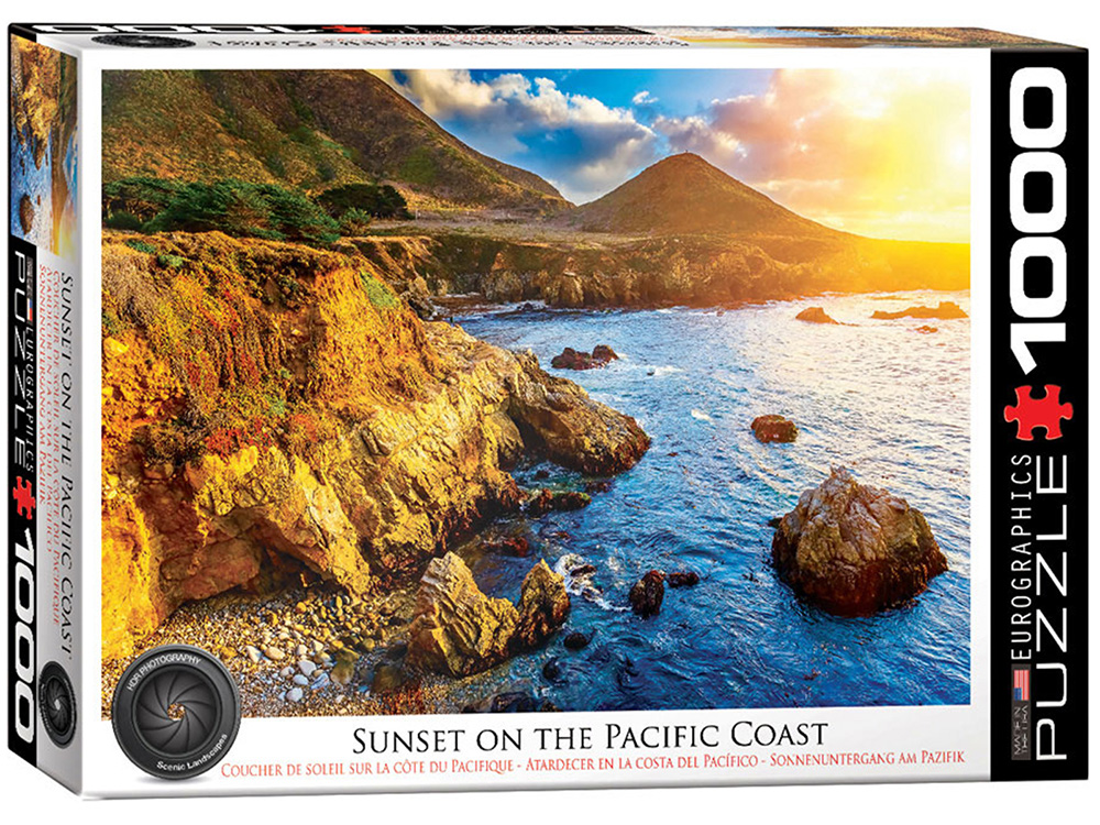 SUNSET OF THE PACIFIC COAST
