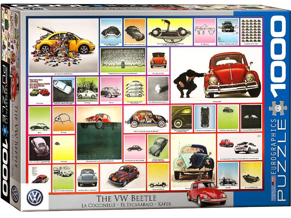 VW BEETLE 1000pc
