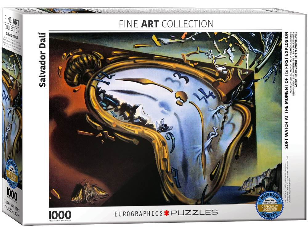 DALI, MELTING CLOCK 1000pc
