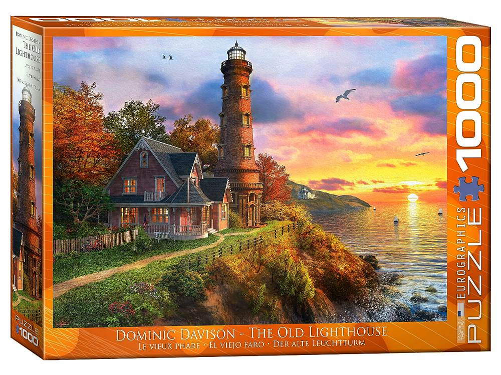 THE OLD LIGHTHOUSE 1000pc
