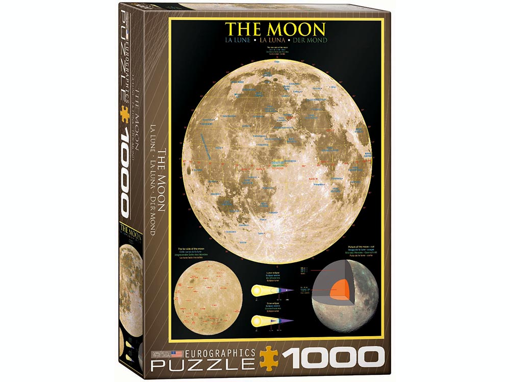 THE MOON 1000pc