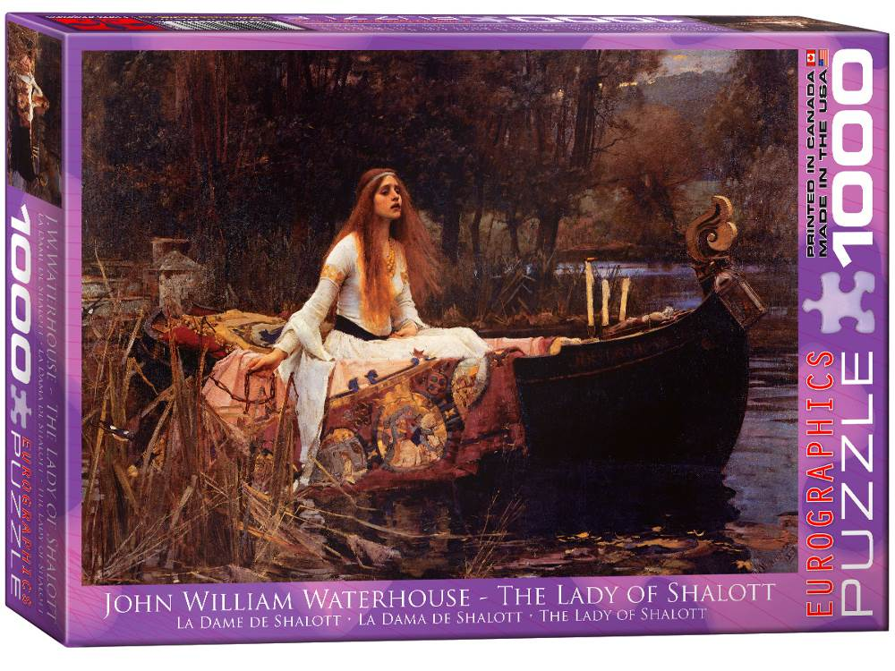 LADY OF SHALOTT 1000pc