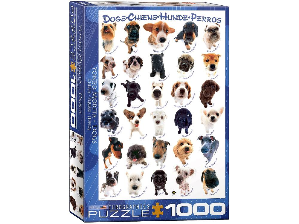 DOG BREEDS 1000pc