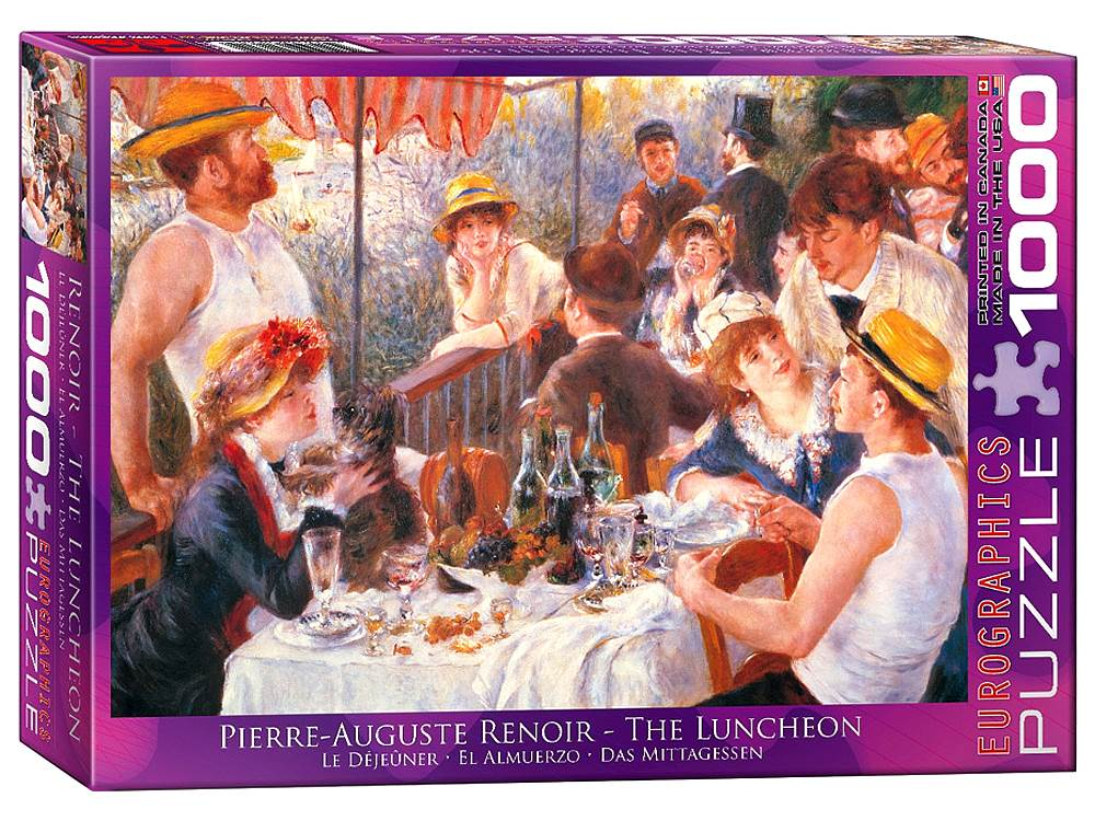 RENOIR, THE LUNCHEON 1000pc