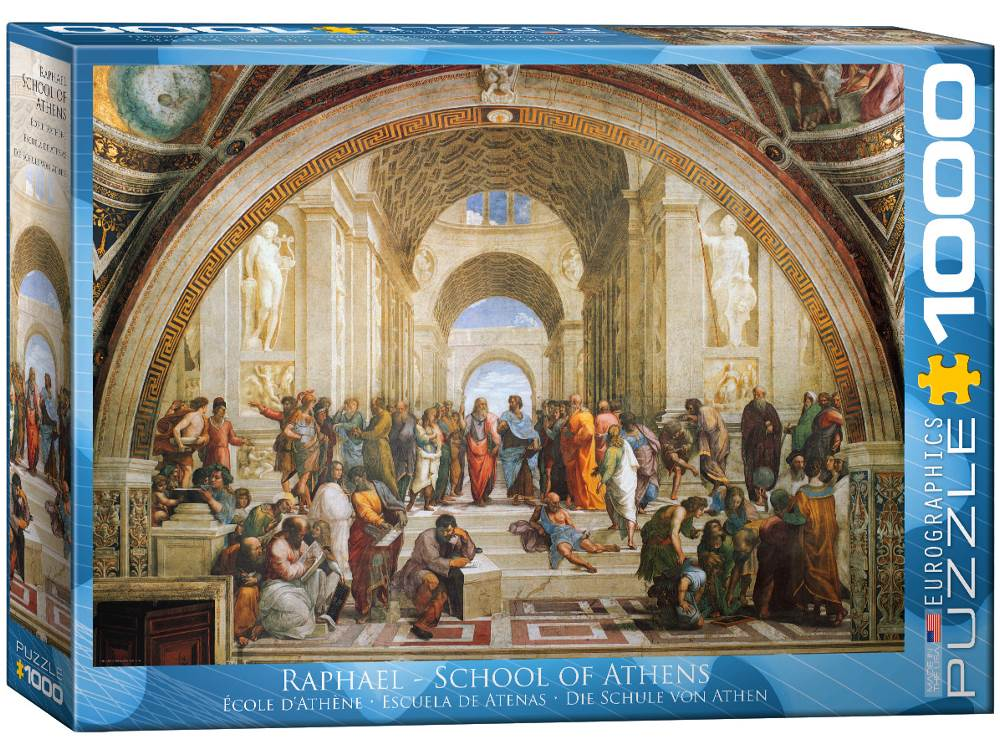 SCHOOL OF ATHENS 1000pc