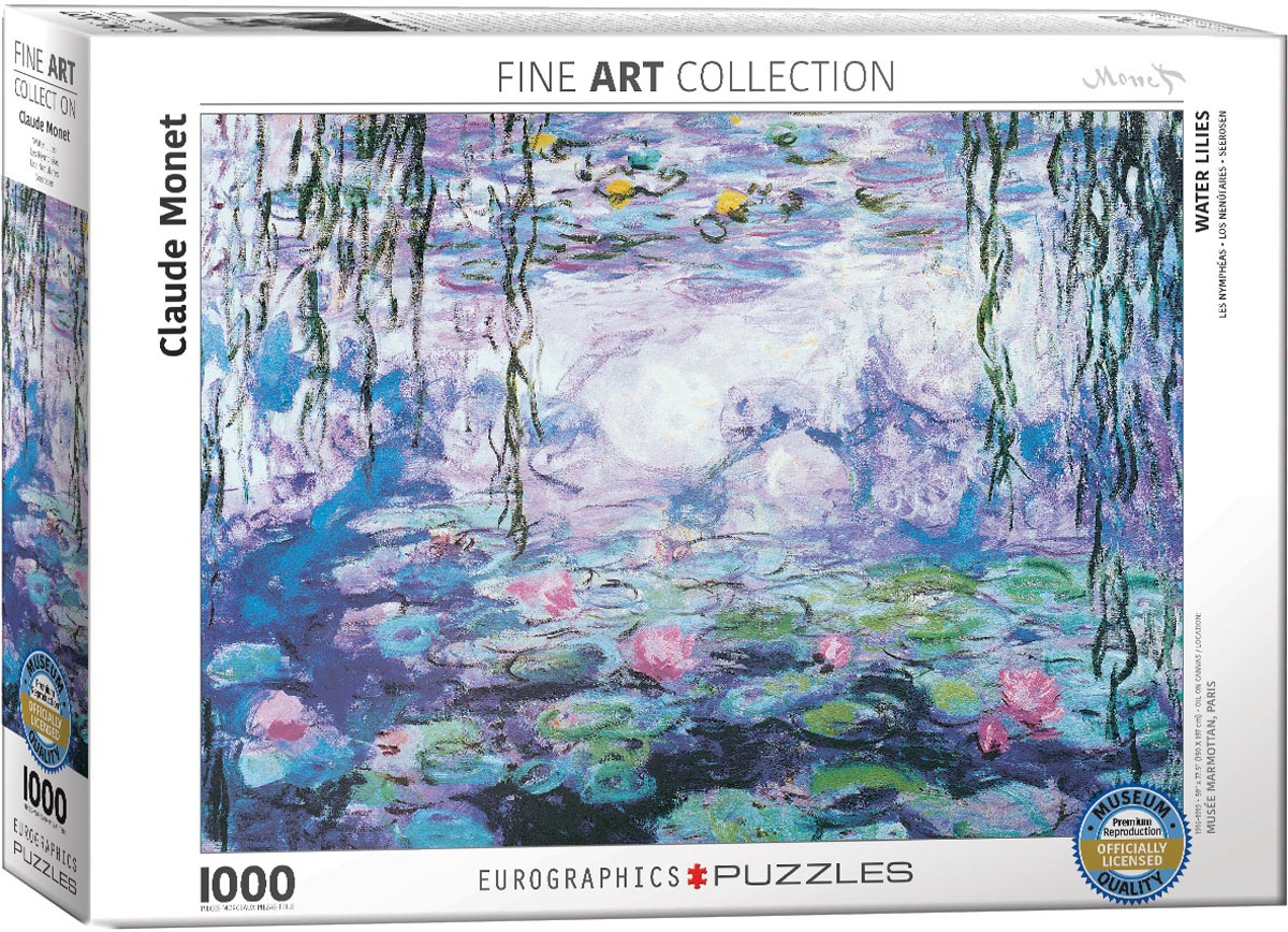 MONET, WATERLILIES 1000pc