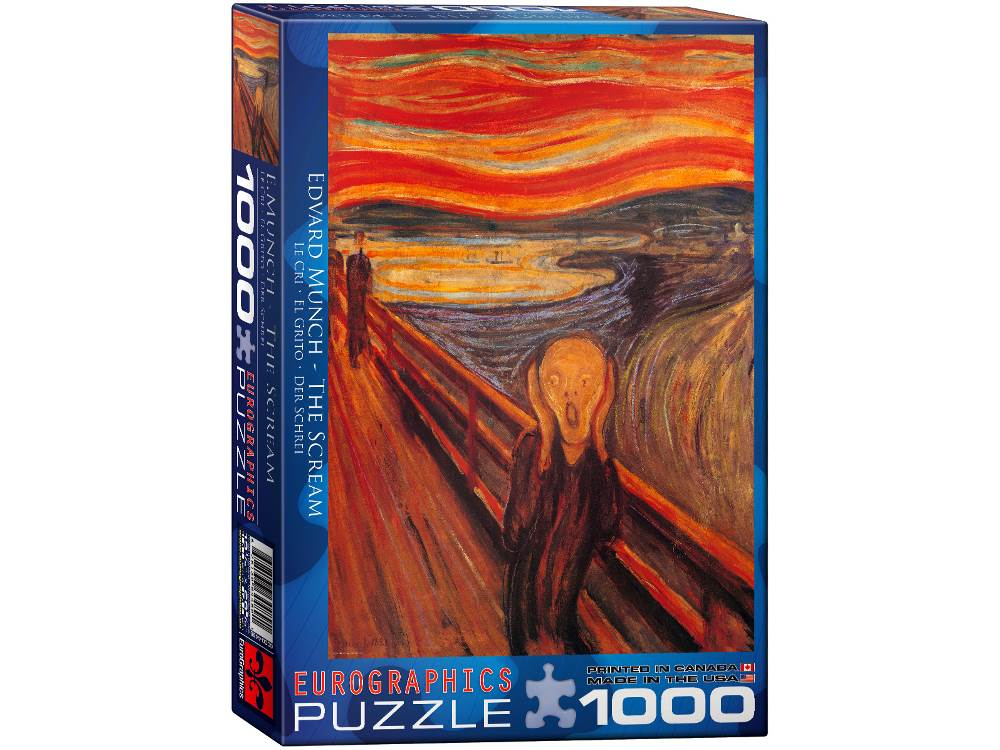 MUNCH, THE SCREAM 1000pc