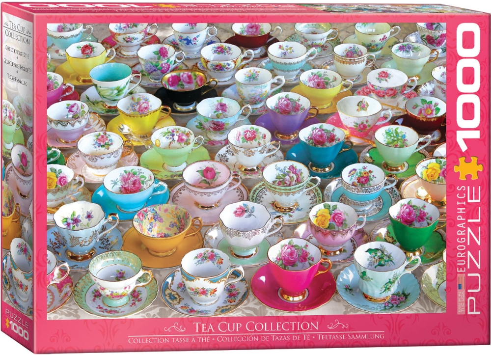 TEA CUP COLLECTION 1000pc