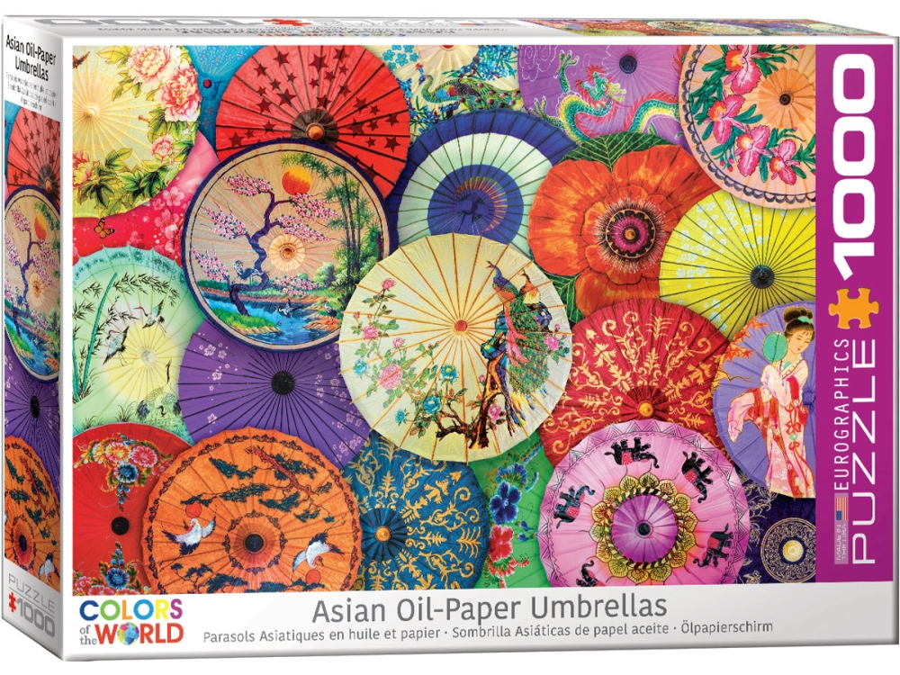 ASIAN OIL-PAPER UMBRELLAS 1000