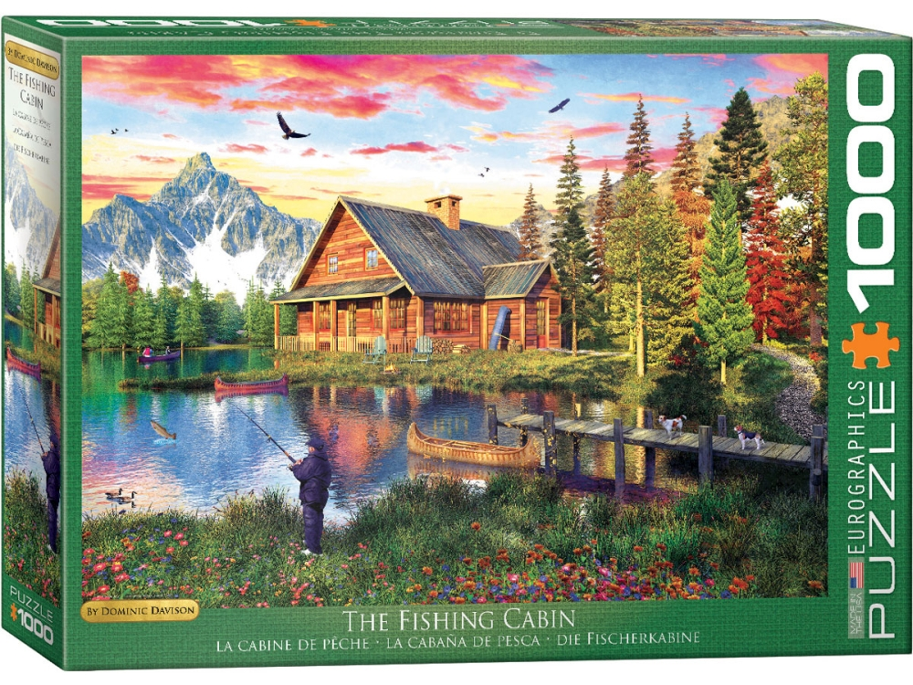 THE FISHING CABIN 1000pc