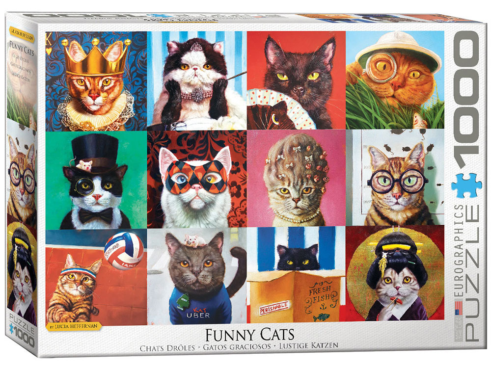 FUNNY CATS 1000pc