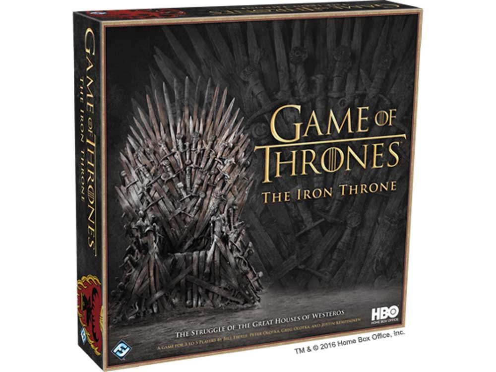 HBO GAME OF THRONES IRON THRON