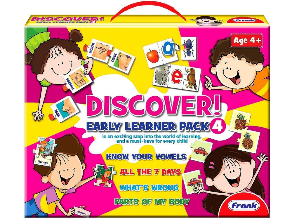 DISCOVER EARLY LEARNER PACK #4