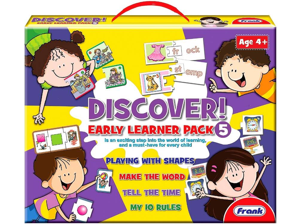 DISCOVER EARLY LEARNER PACK #5