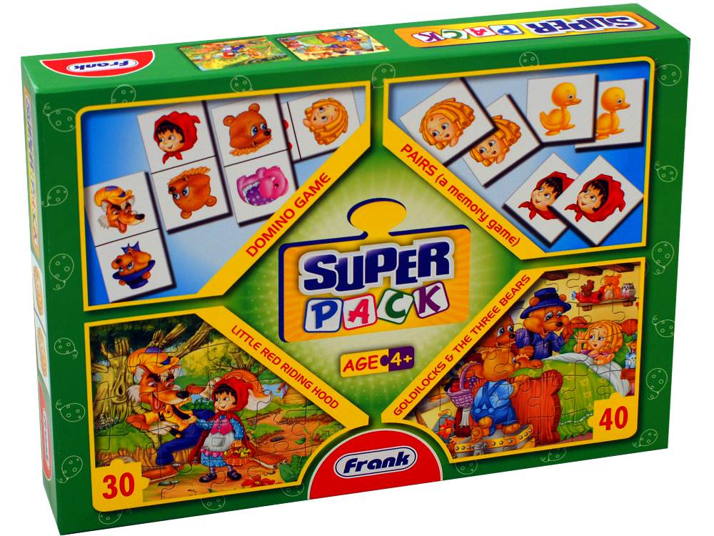 SUPER PACK 2 games & 2 jigsaws
