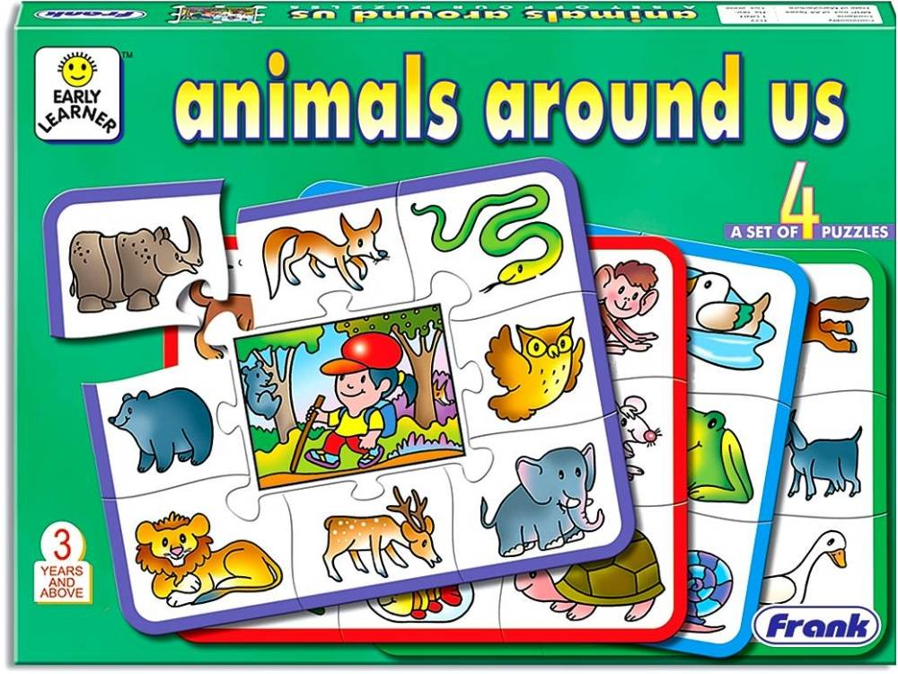 ANIMALS AROUND US PUZZLE 36pc