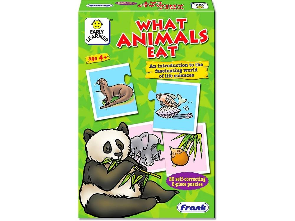 WHAT ANIMALS EAT PUZZLE