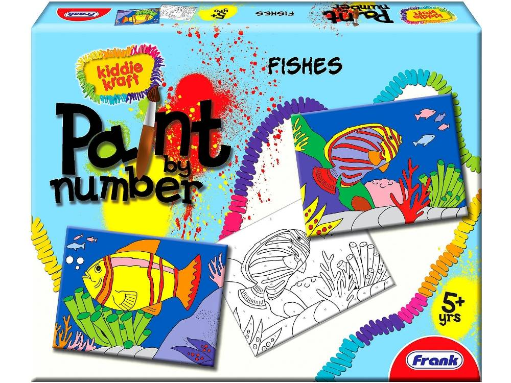 PAINT BY NUMBERS FISHES