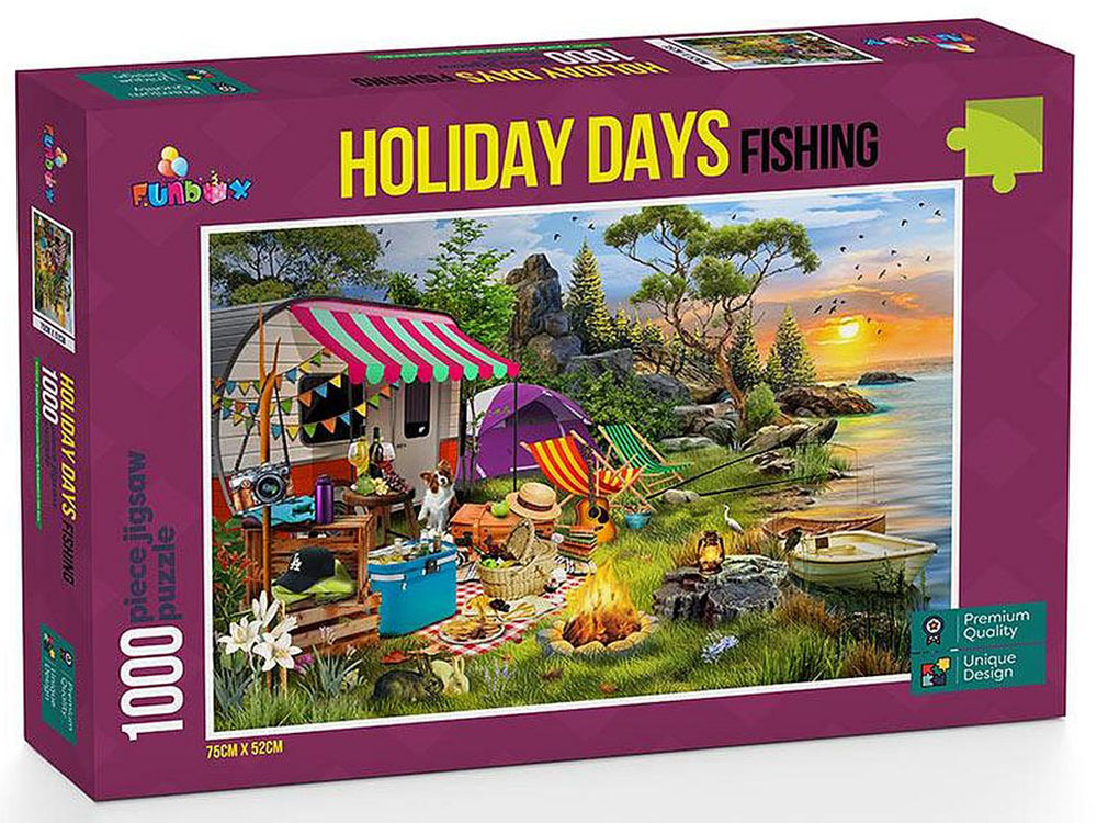 HOLIDAY DAYS FISHING 1000pcs
