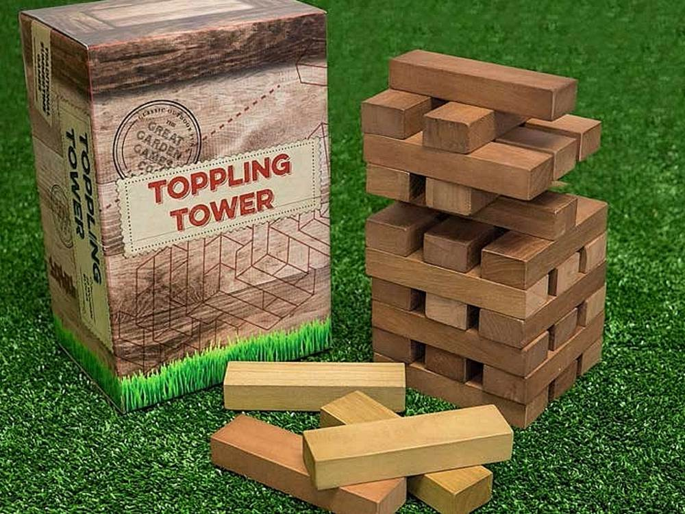 GARDEN GAMES GIANT TOPL.TOWER