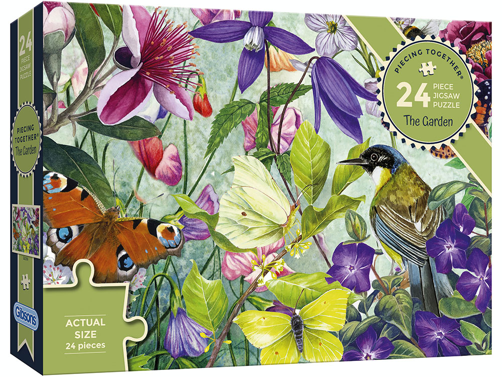 PIECING TOGETHER GARDEN 24pc