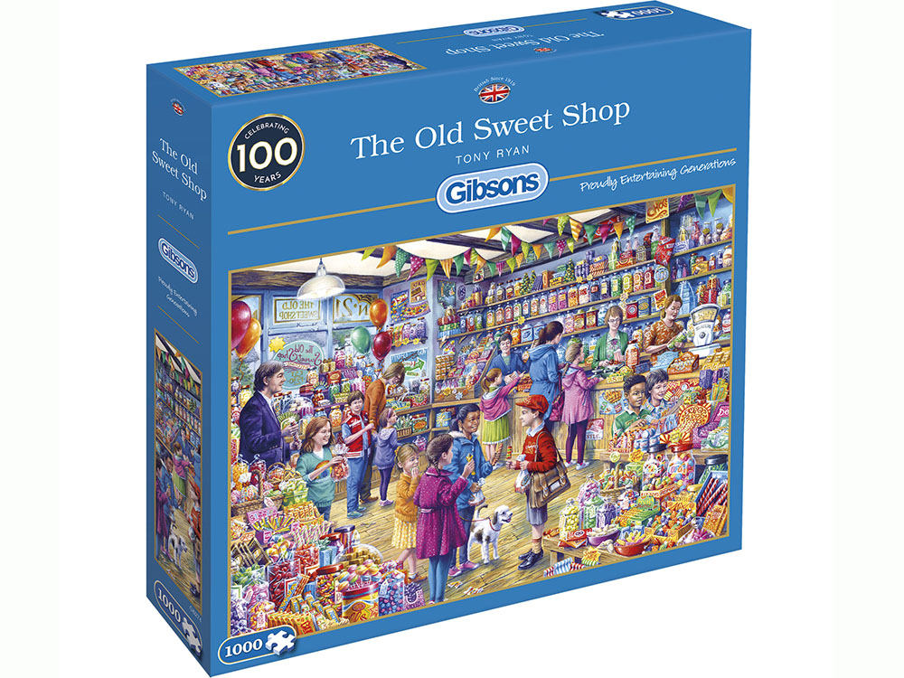 THE OLD SWEET SHOP 1000pc