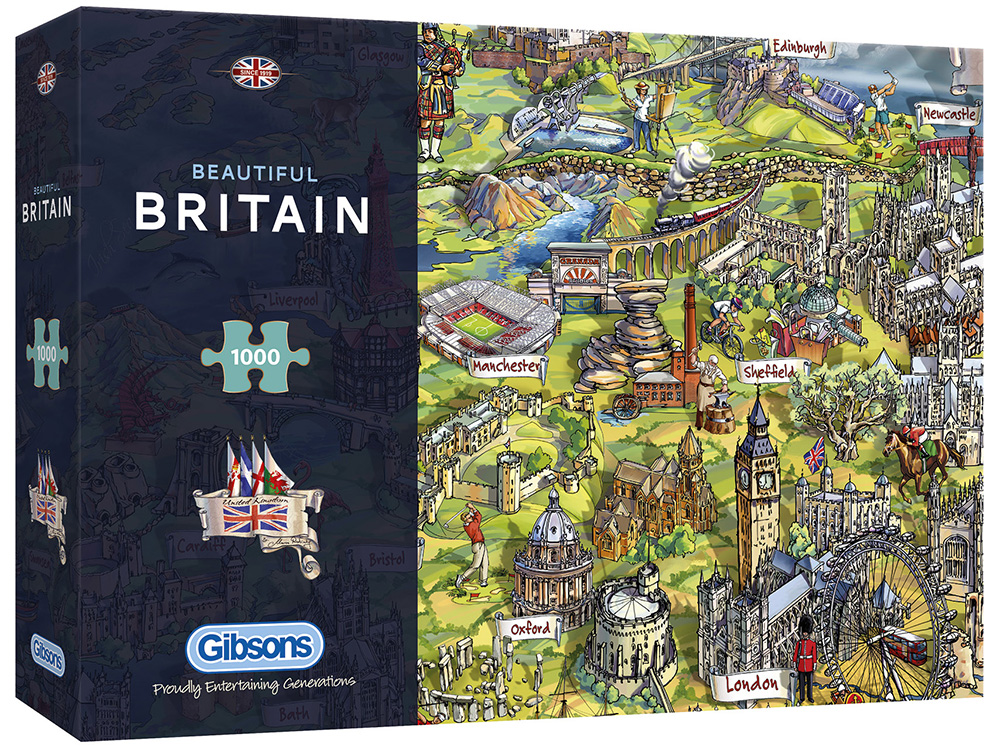 BEAUTIFUL BRITAIN 1000pc