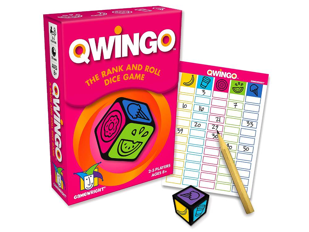 QWINGO Rank & Roll Dice Game