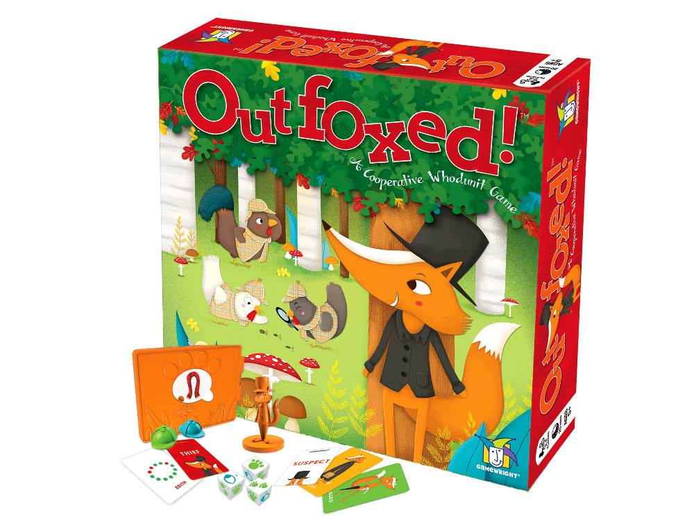 OUTFOXED! WhoDunIt Game