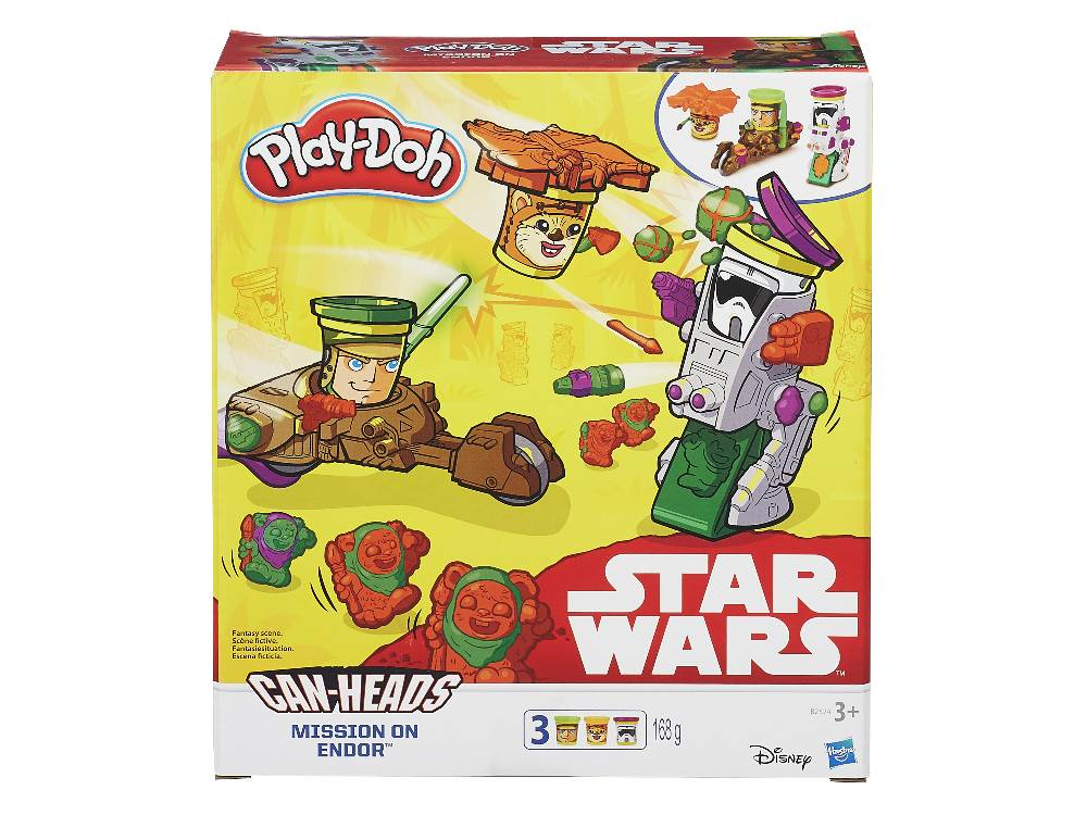 PLAYDOH STAR WARS CANS 3pack